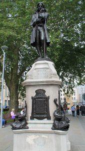 la statue du marchand d'esclaves Edward Colston à Bristol