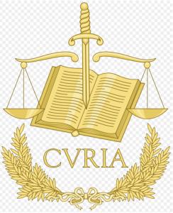Emblème Court de justice européenne