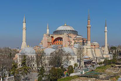 Istanbul Hagia Sophia mars 2013