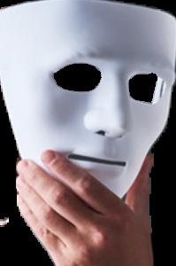 Le masque est tombé
