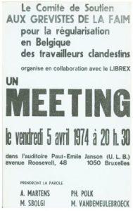 Meeting grève de la faim 974